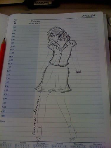 23-2011 // work doodle