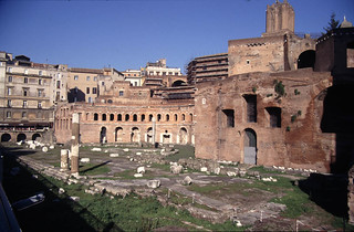 Trajan's Market: view from southeast