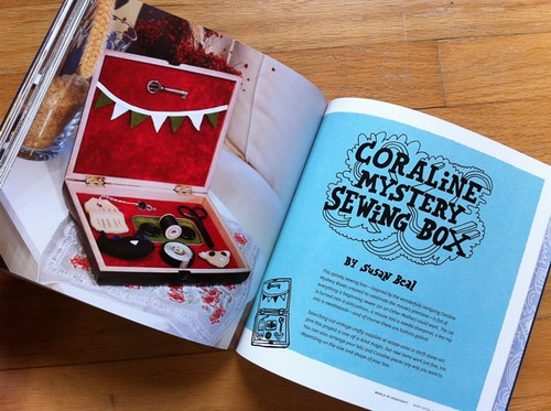 Coraline Mystery Sewing Box