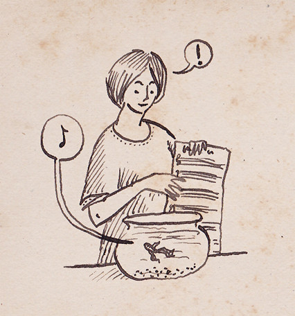 Illustration Friday: Lesson