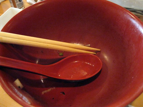 Udon? All Gone