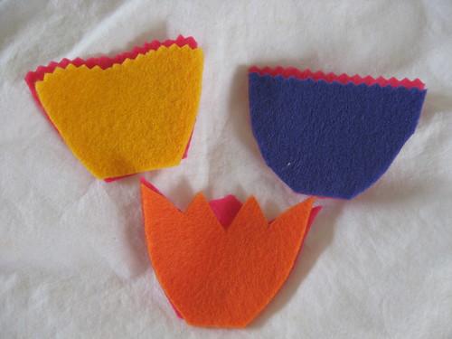 tiny tulips - edging options