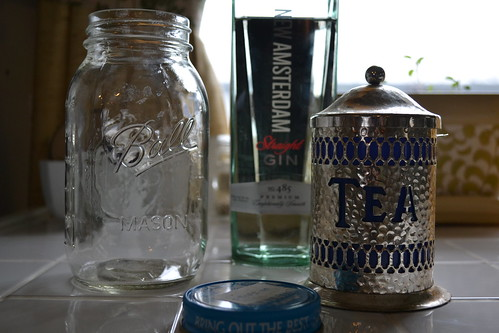 Tea gin