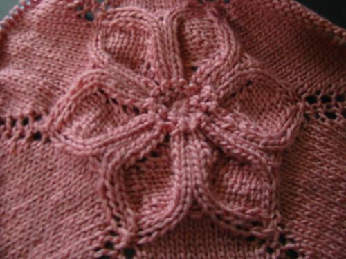 Seamless Flower Dress Test Knit