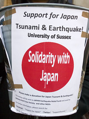 Support for Japan