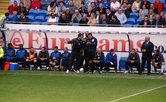 Bench View of Rocha Sending Off