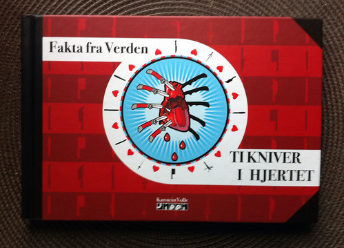 Fakta fra Verden - Ti kniver i hjertet - cover by Karstein Volle
