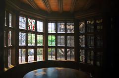Large main window at Little Moreton Hall