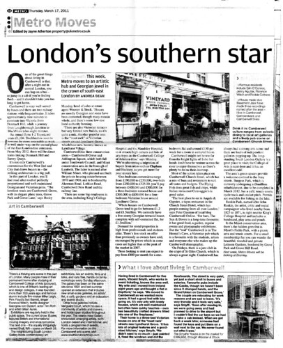 London's southern star