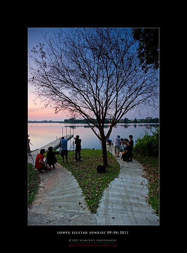 Lower Seletar Reservoir Sunrise 09-04-2011 #2