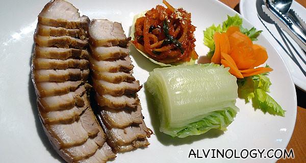 韩式白切猪肉