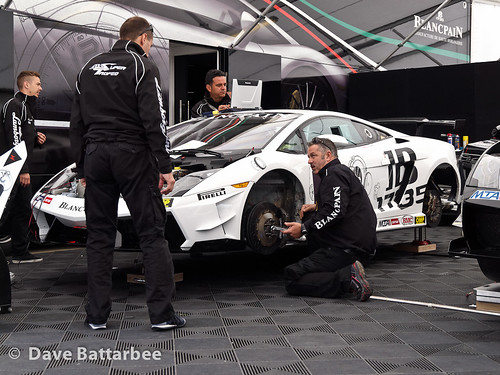 Lamborghini Race Preparation