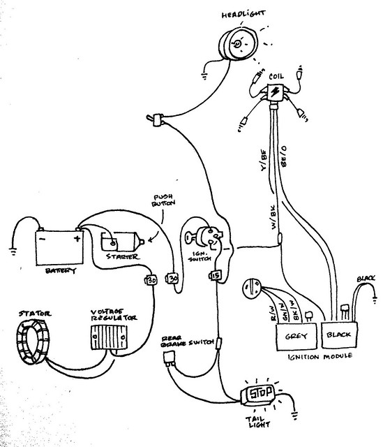 Key Switch Wiring Diagram Yamaha Big Bear