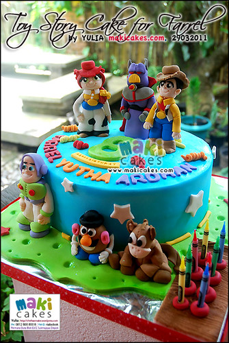 Toy Story Cake for Farrel - Maki Cakes