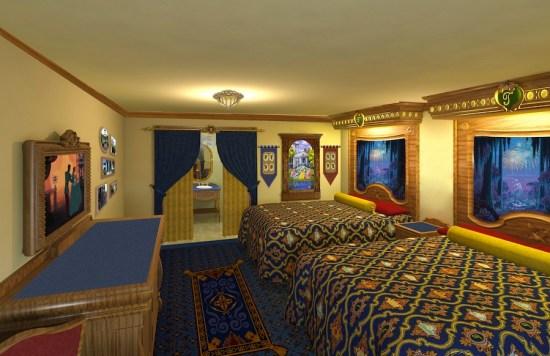 Royal Guest Room at Disney's Port Orleans Resort