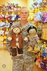 Three Warriors - PVT Jeffrey - General Sarge -...
