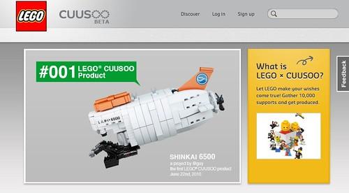 LEGO CUUSOO crowdsourcing