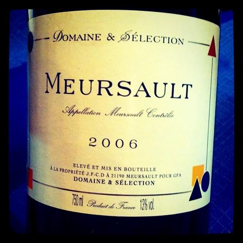 Meursault 2006 Domaine et Selection