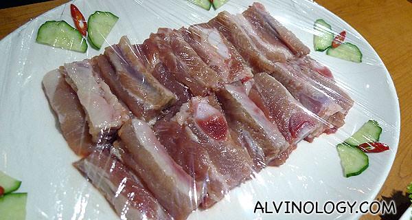 Yummy fatty pork