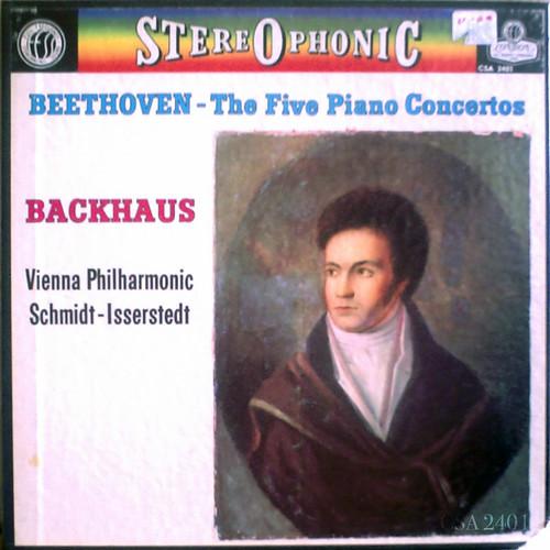 アマデウスクラシックス通販レコードの案内 - ベートーヴェン:ピアノ協奏曲全集 ウィルヘルム・バックハウス(ピアノ)、ハンス・シュミット=イッセルシュテット指揮ウィーン・フィル