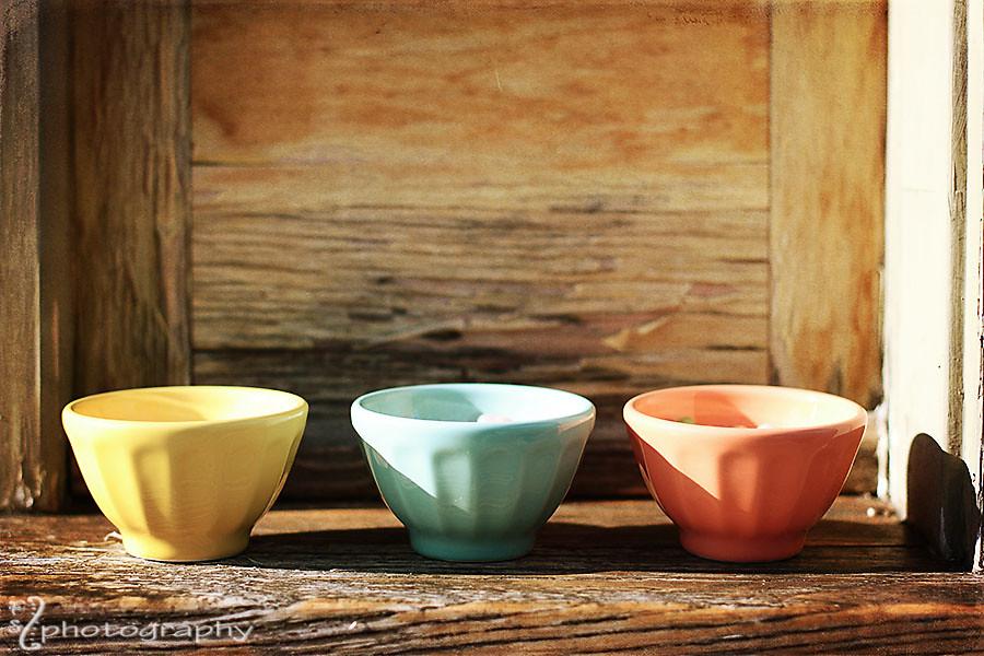 Pastelpologie bowls