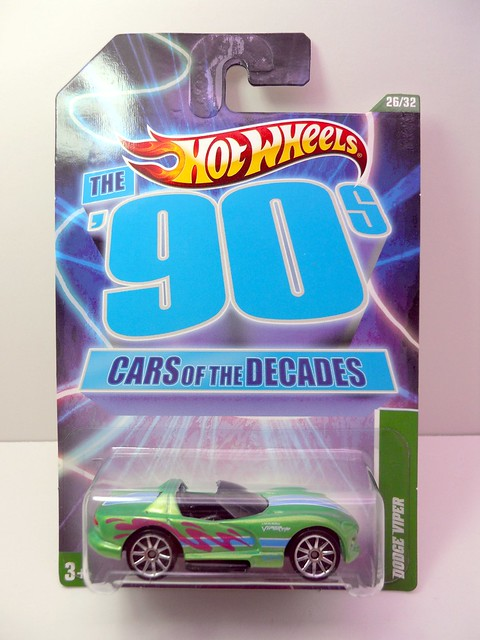 hot wheels cars of the decade dodge viper (1)