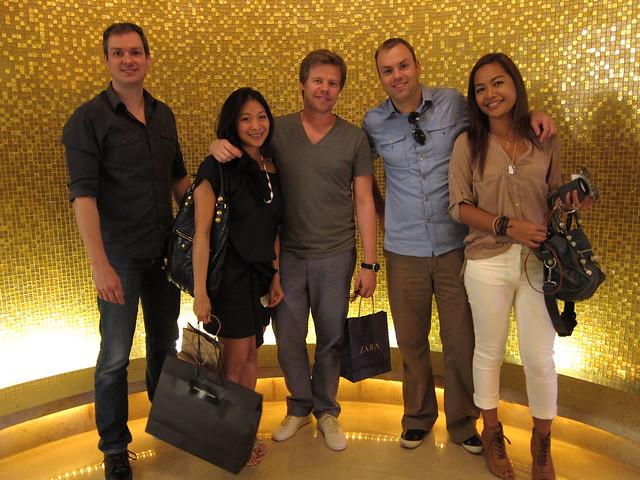 Jeroen, Lia, Ferry, Victor, Joy