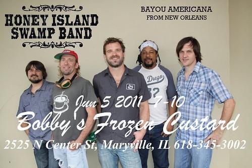Honey Island Swamp Band 6-5-11