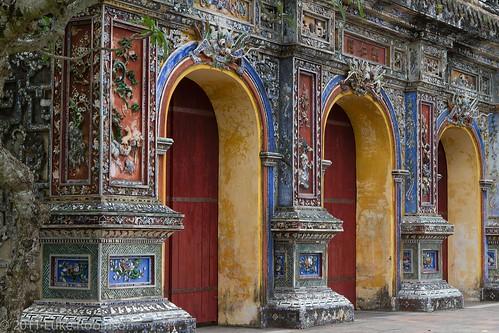 Side Gates of Citadel, Imperial City, Hue