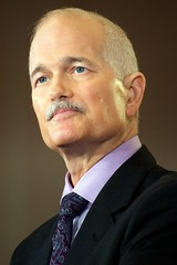 Jack Layton, Leaders Tour - Tournée du by mattjiggins, on Flickr