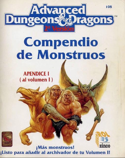 Apéndice I Compendio de Monstruos