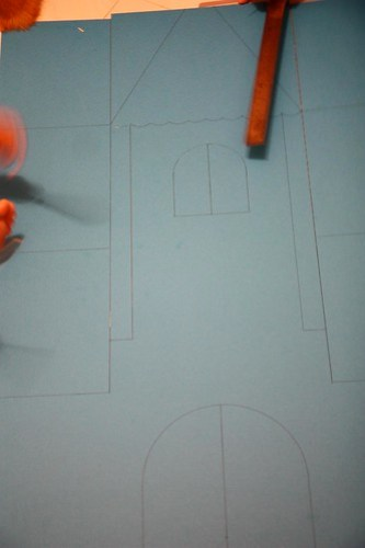 making the drawing