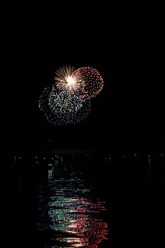 Wisconsin River Fireworks 7-2-11 018