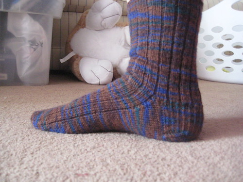 Brown sock 3