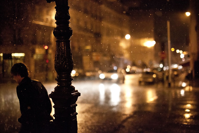 Paris under the Rain