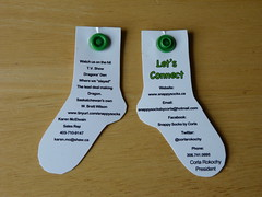 Snappy Socks - business card pix 02