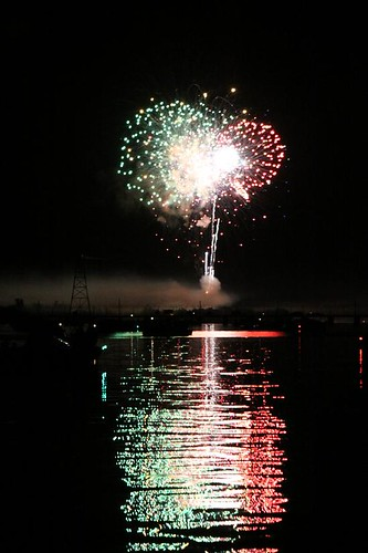 Wisconsin River Fireworks 7-2-11 030