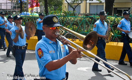 Police Band by Exciting Cebu -- Rusty Ferguson, on Flickr