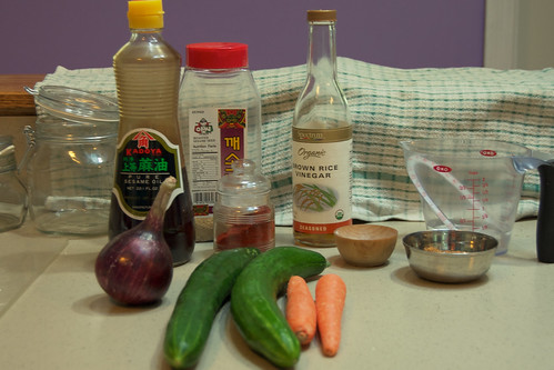 ingredients for pickles