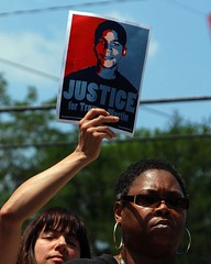 Trayvon Martin Rally Sit-In - Sanford