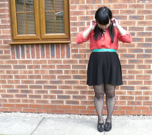 coral blouse 2