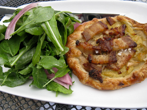 pork belly galette