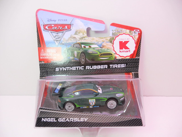 Disney Cars 2 Kmart event 2011 rubber tire nigel gearsley (1)