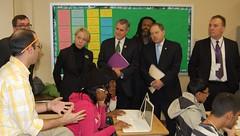 Cathie Black Visits Hillcrest High School, Dec...