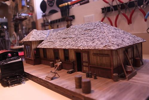 Don Vancil's Railroad workshop
