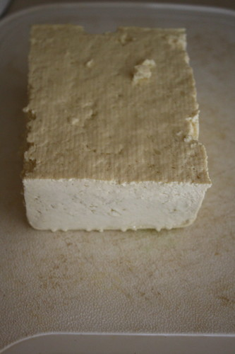 tofu block