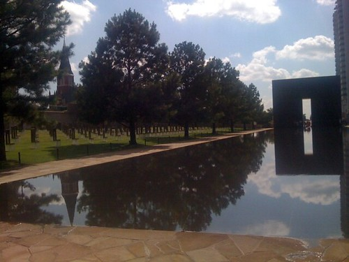 OKC Memorial Reflection Pool