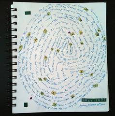 Gratitude List, Journal Style
