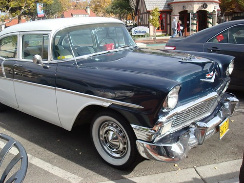 A Chevrolet Bel Air - one of my favorite cars ever, spotted Dec 5th