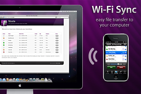 WiFi Sync: Sincronizar gadgets de Apple a Internet